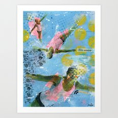 VACANCY zine - Illusion sentimentale Art Print