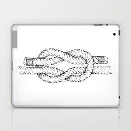 A reef knot - nautical art Laptop & iPad Skin