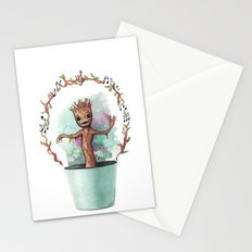 Baby Groot Stationery Cards
