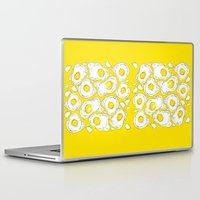 eggs Laptop & iPad Skins featuring eggs by AnnaToman