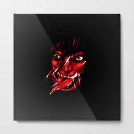 Angry Metal Print