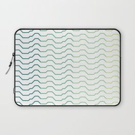 Ombre Waves Laptop Sleeve