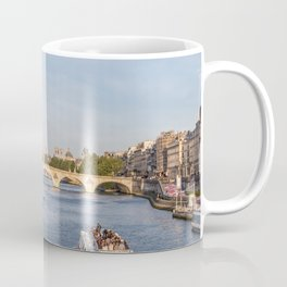 Pont Royal over the Seine river - Paris, France Coffee Mug