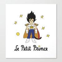 le petit prince Canvas Prints featuring Le Petit Prince by Aldo Cervantes Saldaña