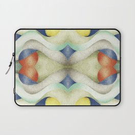 Abstract Air – Blue Laptop Sleeve