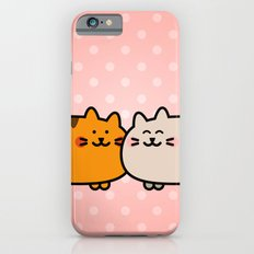 Romantic Cats Slim Case iPhone 6s