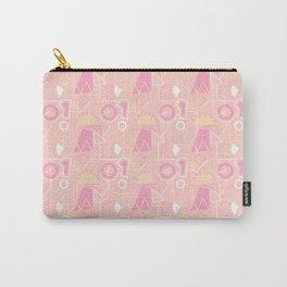 Graze Maze Peach Carry-All Pouch