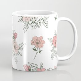 Delicate floral. Coffee Mug