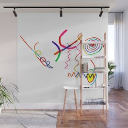 Funky Way Doodle Wall Mural