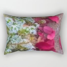 Fall sidewalk Leaves in Kenosha Rectangular Pillow