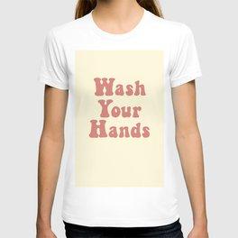 Wash Your Hands Art T-shirt