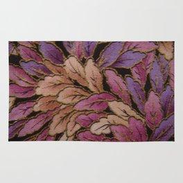 Coloured Leaves Rug