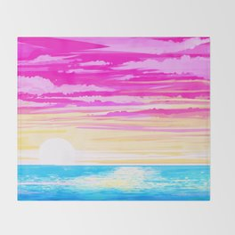 Pan Sky Throw Blanket