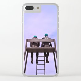 The dreamers Clear iPhone Case