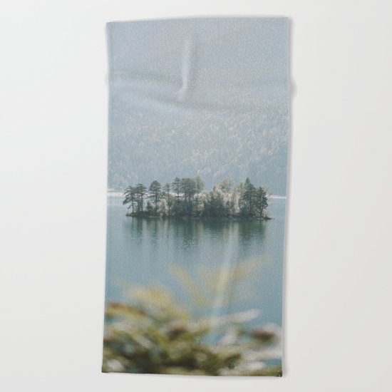 Paradise Island - Landscape Photography Beach Towel