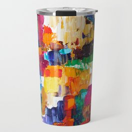 Life In Color Travel Mug