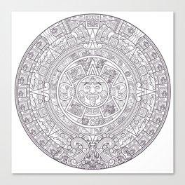Sun Stone Canvas Print