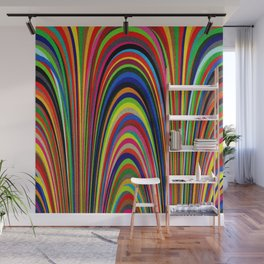 Colorful Arches Wall Mural