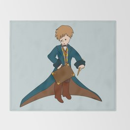 Prince Newt Throw Blanket