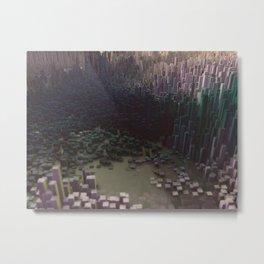 3d landscape Metal Print