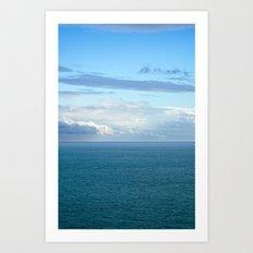 Mediterranean Sea 35 Art Print