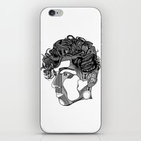 danny ivan iPhone & iPod Skins featuring Danny by Alastair Vanes