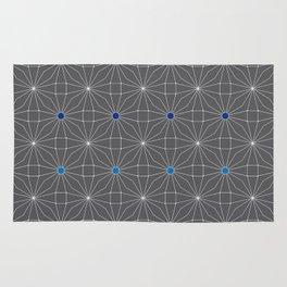 Mesh pattern Rug