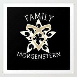 family morgenstern Art Print