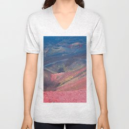 The Volcan Etna Unisex V-Neck