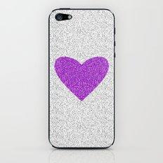 Purple Love iPhone & iPod Skin