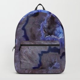 Quartz Inside Geode rustic decor Backpack