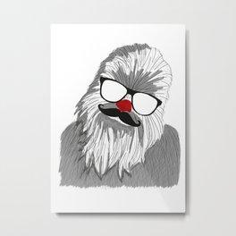 Wacky Wookie Metal Print