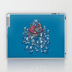 Blue Horde Laptop & iPad Skin