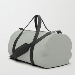 Neutral Mid-tone Gray Solid Color Pairs to Sherwin Williams Oyster Bay SW 6206 Duffle Bag