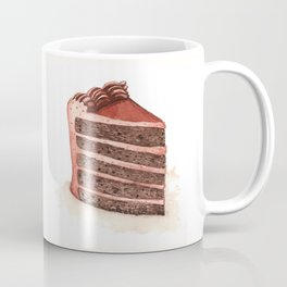 Chocolate Layer Cake Slice Coffee Mug