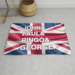 Rock and Roll legends | For Rock and Roll fans | English Rock Rug