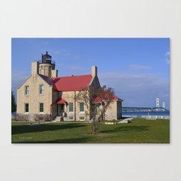 Mackinaw Lighthouse Canvas Print