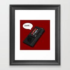Diane Framed Art Print