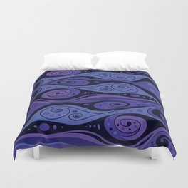 Surreal Waves Duvet Cover