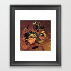 Royal Rumble Framed Art Print