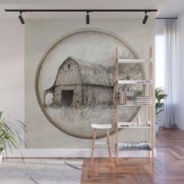 Old Barn Wall Mural
