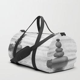 Seaside Harmony Zen Pebble Duffle Bag