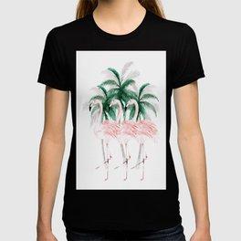 Three Flamingos T-shirt