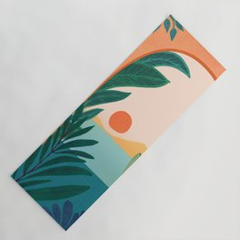 Tropical Evening Yoga Mat