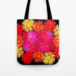 Bouquet on display Tote Bag