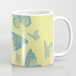 Dry Butterflies Coffee Mug