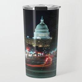 DC At Night Travel Mug
