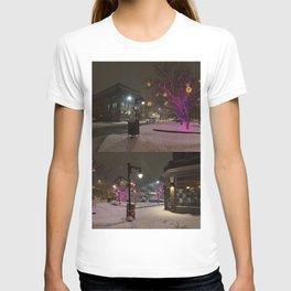 Longfellow Square Christmas Lights (3) T-shirt