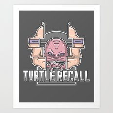 Turtle Recall Art Print