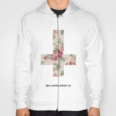 Flower Cross Hoody